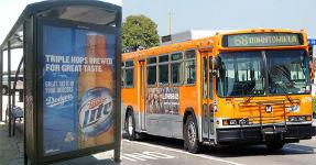 LA Bus Shelter Ad