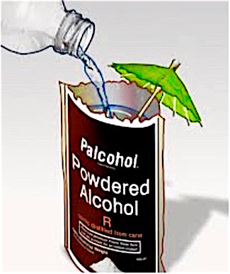 Powdered Alcohol Packet