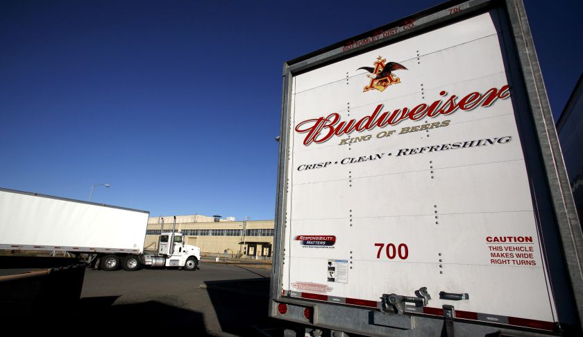 Budweiser Distribution Truck