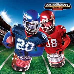 Bud Bowl - because cartoons are fun for the whole family