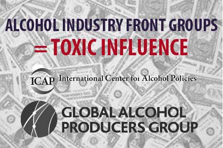Alcohol industry graphic
