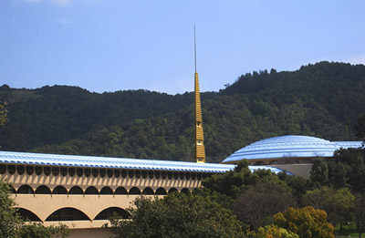 The Marin County Civic Center and Spaceport is calming