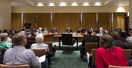Nebraska Liquor Commission hearing on Whiteclay liquor stores