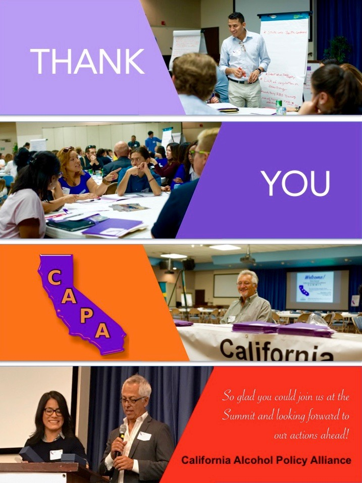 Thank You collage for CAPA Summit attendees