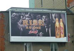 A-B InBev Rise As one Billboard