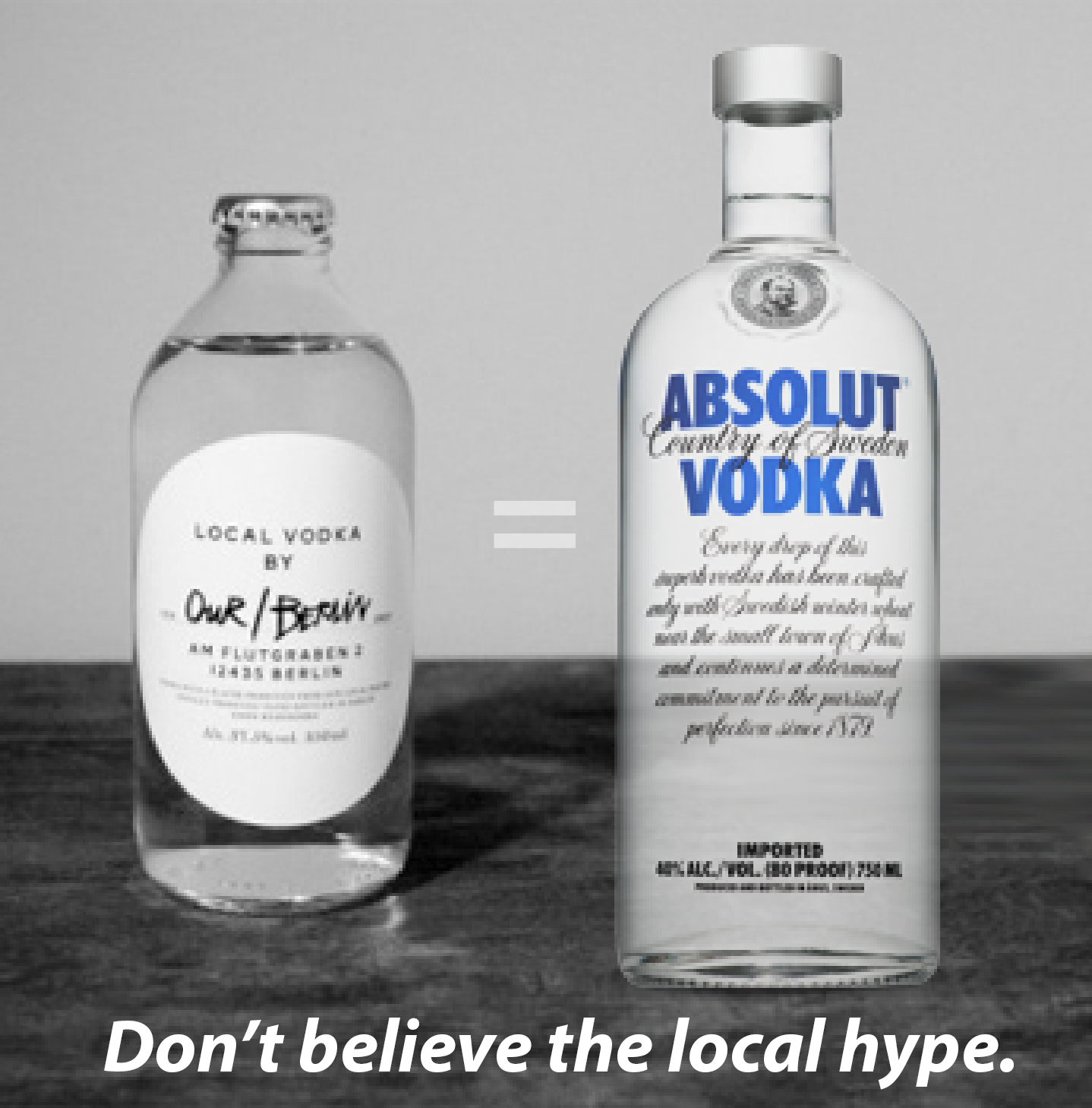 OurVodka=Absolut