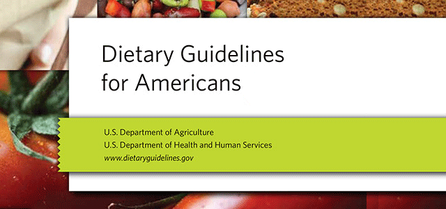 ACTION NEEDED: Oppose the 2015 Dietary Guidelines Report
