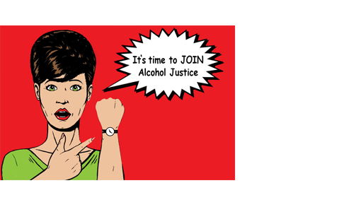 <span style='letter-spacing: 2px;'>Join Alcohol Justice to Hold Big Alcohol Accountable</span>