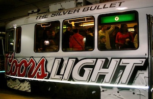 coors light train