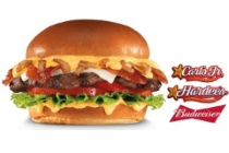 Carl's Jr/Hardee's Budweiser Beer Cheese Bacon Burger