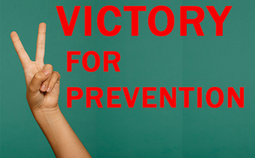 victory for prevention