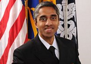 A photo of US Surgeon General Vivek Murthy