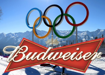 The winter Olympics that budweiser is no longer in
