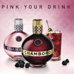 Chambord pinkwashes via pink your drink advertisement
